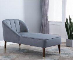 Forest Grey Chaise Lounge
