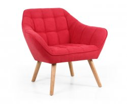 Anderson Red Upholstered Accent Chair