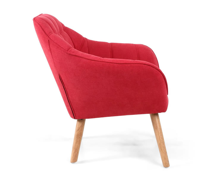 Anderson Red Upholstered Accent Chair Just Armchairs