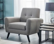 Parco Grey Upholstered Arm Chair